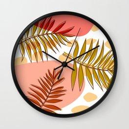 Tropical Bliss Wall Clock