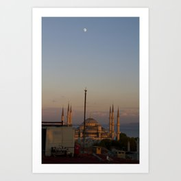 Istanbul. Art Print