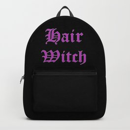 Hair witch purple Backpack