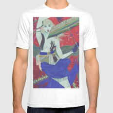 Anything Could Happen MEDIUM Mens Fitted Tee White