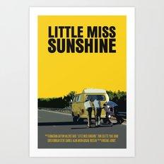 Little Miss Sunshine Movie Poster Art Print