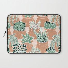 Succulent's Tiny Pots Laptop Sleeve
