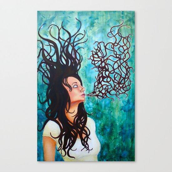 Breath  Canvas Print