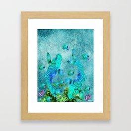 KOI POND ADVENTURE Framed Art Print
