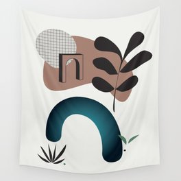 Shape study #8 - Synthesis Collection Wall Tapestry