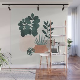 Coffee & Plants x The Sill Wall Mural