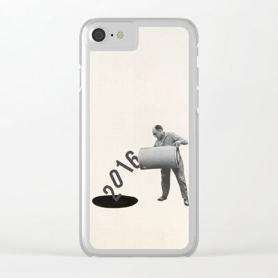 Noir Year Clear iPhone Case