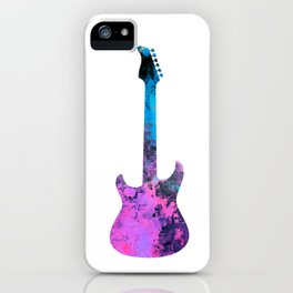 guitar art #guitar iPhone Case