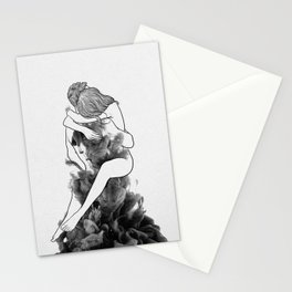 I find peace in your hug. Stationery Cards