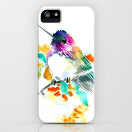Cute Little Hummingbird iPhone Case