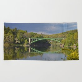 Summer Storm Clouds - Delaware River Beach Towel