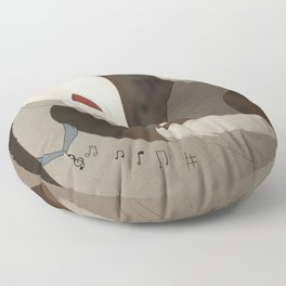 Classical Music Dragon Floor Pillow