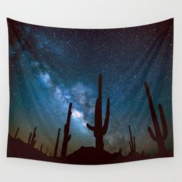 Milky Way Cacti Wall Tapestry