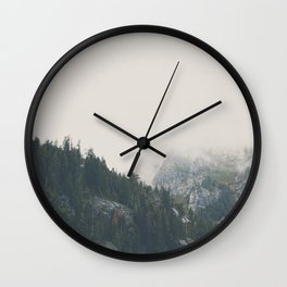 The power of imagination makes us infinite. Wall Clock