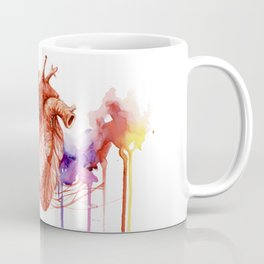 Let your heart lead the way Coffee Mug