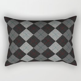 Golf Grey Rectangular Pillow