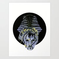 Volatile Oblivion Art Print