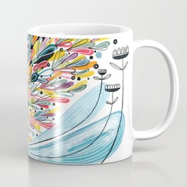 Flower Splash Coffee Mug