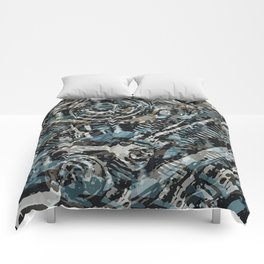 Abstract V-Twin Comforters