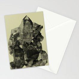 Vintage Crystal Mineral Stationery Cards