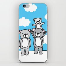 Polar Bear Family iPhone & iPod Skin