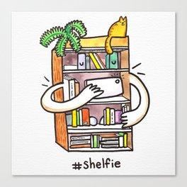 Shelfie Art Print! Canvas Print
