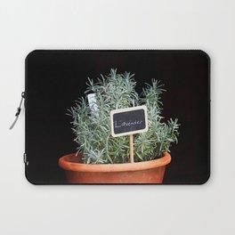 Lavender Plant Laptop Sleeve