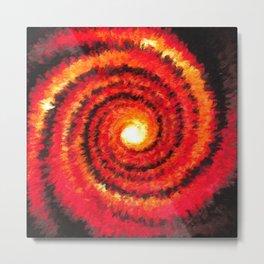 Fire Portal Metal Print
