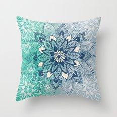 Mandala Fade  Throw Pillow