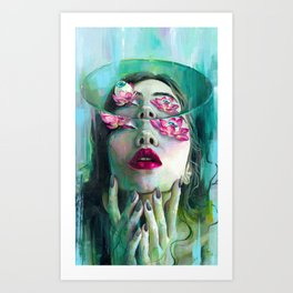 Refraction of the Spotless Mind Art Print