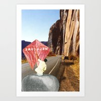 welcome Art Prints featuring Welcome by Michael Harford