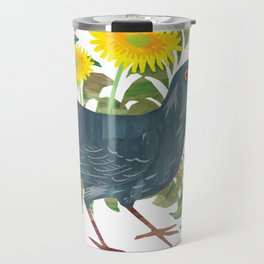 Blackbird & Dandelions Travel Mug