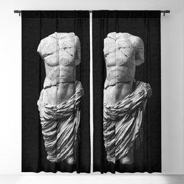 Greek God  Blackout Curtain