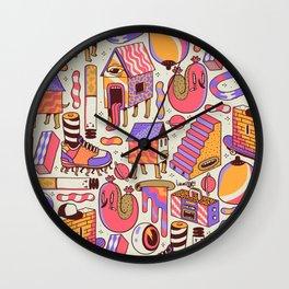 chaotic life Wall Clock