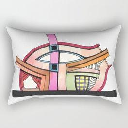 Abstract Theatre Architecture Art 50 Rectangular Pillow