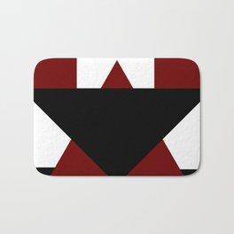 Modern Geometric Abstract Bath Mat