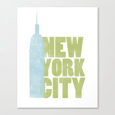 New York City - Empire State Canvas Print