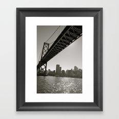 San Francisco Bridge Framed Art Print