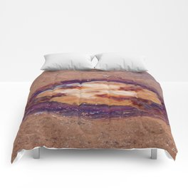 Jellyfish upside down Comforters