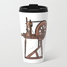The Spinning Wheel Travel Mug