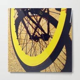 Bike Smile Metal Print