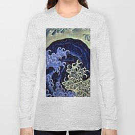 "Hokusai (1760–1849) ""Femenine wave"" Long Sleeve T-shirt"