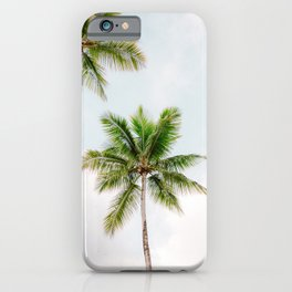 For the love of palm trees | Dominican Republic travel photography print | Summer time iPhone Case