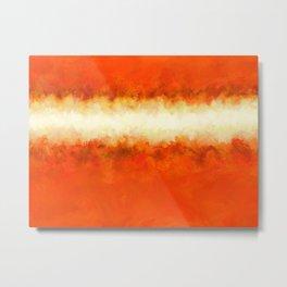 Tangerine Sunshine Metal Print