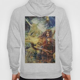 Guargian Angel of Protection power animals Hoody