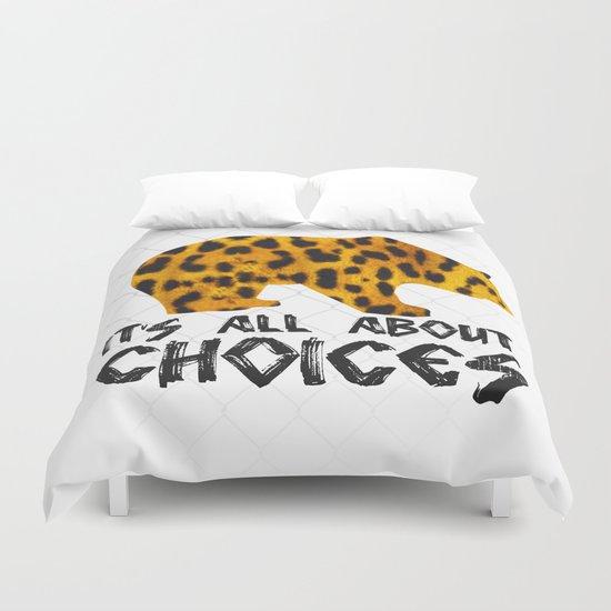 Bear Leopard Duvet Cover