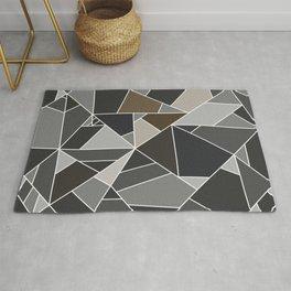 stone mosaic - stone texture Rug