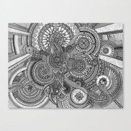 The Hidden Clockwork Canvas Print