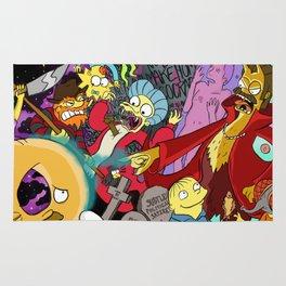 Simpsons Halloween Bonanza Rug
