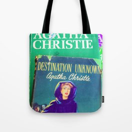 Destination Unknown - Vintage Agatha Christie Tote Bag
